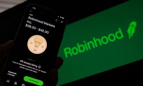 """Drungname IPO """"Robinhood"""" įvertinta žemiausia kaina"""