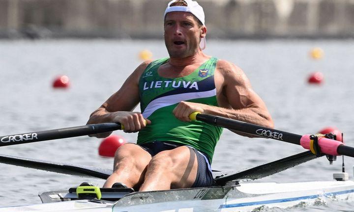 Mindaugas Griškonis pateko įolimpiados finalą
