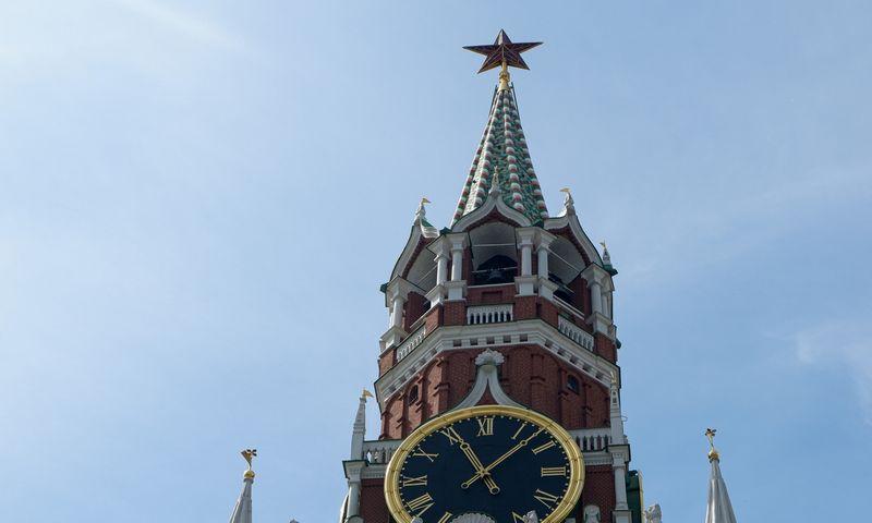 Maskvos Kremlius 2019 m. gegužę.  Naglio Navako (VŽ) nuotr.