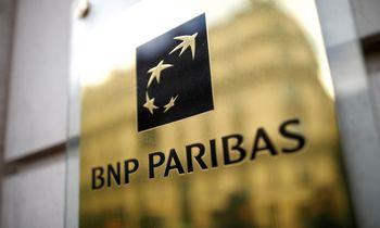 """""""BNP Paribas"""" pelną augino 27%, žada daugiau dividendų"""