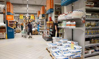 Statybinių medžiagų parduotuvės reikšmingai didina pardavimus