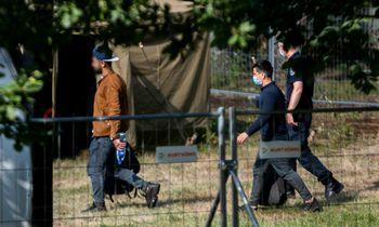 Praėjusią parą sulaikyta 117 migrantų