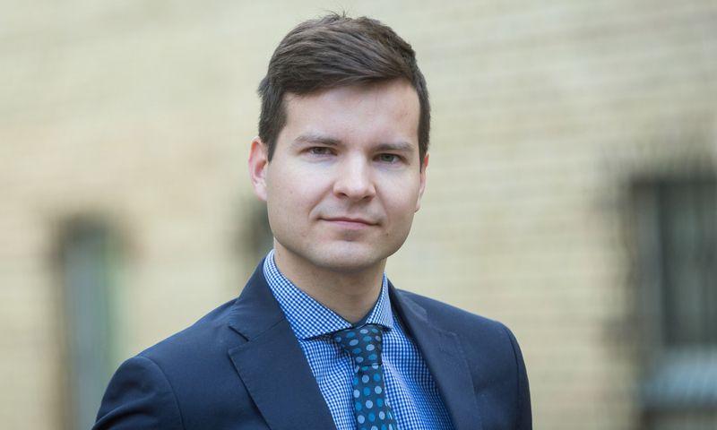 Algirdas Prapiestis, Lietuvos banko Makroprudencinės analizės skyriaus vadovas. Lietuvos banko nuotr.