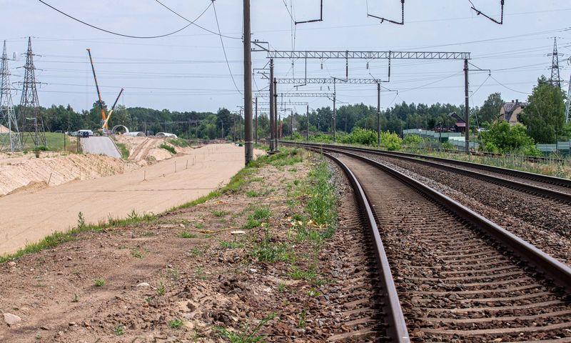 Kol kas Lietuvoje elektrifikuota tik 9% geležinkelių. Juditos Grigelytės (VŽ) nuotr.