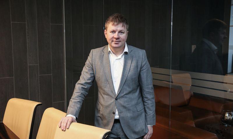 Vytautas Plunksnis, Investuotojų asociacijos valdybos pirmininkas. Vladimiro Ivanovo (VŽ) nuotr.