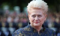 D. Grybauskaitė ragina skubiai statyti fizinį barjerą pasienyje su Baltarusija