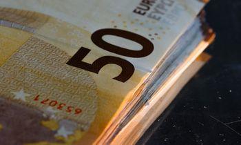 Lietuvos bankas šiemet iš apyvartos išėmė 34% mažiau padirbtų eurų