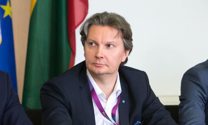 """Kęstutis Šliužas, """"Lietuvos geležinkelių"""" valdybos pirmininkas. Juditos Grigelytės (VŽ) nuotr."""