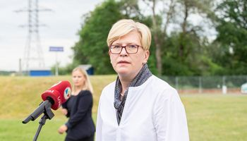 Tvora pasienyje bus statoma iš Lietuvos skolintų lėšų, teigia premjerė