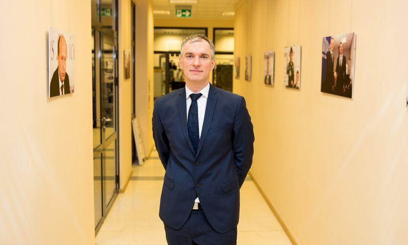 Mindaugas Sinkevičius, Turto banko vadovas. Žygimanto Gedvilos (15min/Scapix) nuotr.