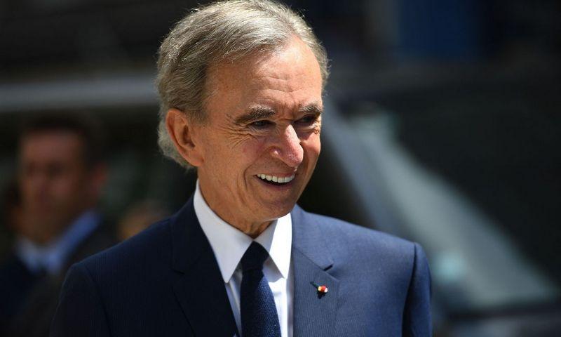 """Turtingiausias pasaulio žmogus Bernard Arnault. Christophe Archambault (AFP / """"Scanpix"""") nuotr."""