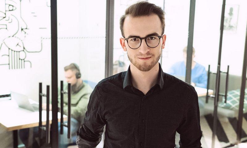 """Antanas Bernatonis, UAB """"Montonio Finance"""" verslo plėtros vadovas. E. Kurausko nuotr."""