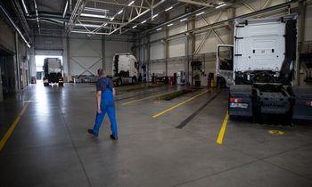 Kartu su vežėjais šiemet auga ir vilkikų remonto servisai