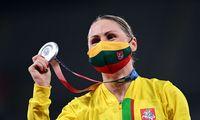 L. Asadauskaitė-Zadneprovskienė iškovojo pirmąjį medalį Lietuvai Tokijo olimpiadoje