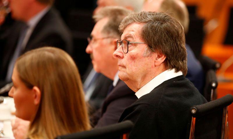 "Klausas Gehrigas, atsistatydinęs ""Schwarz Gruppe"" generalinis direktorius. Hannibal Hansche (""Reuters"" / ""Scanpix"") nuotr."