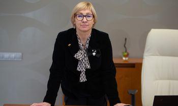 Ministrė J. Šiugždinienė apie sporto padėtį: esame duobėje