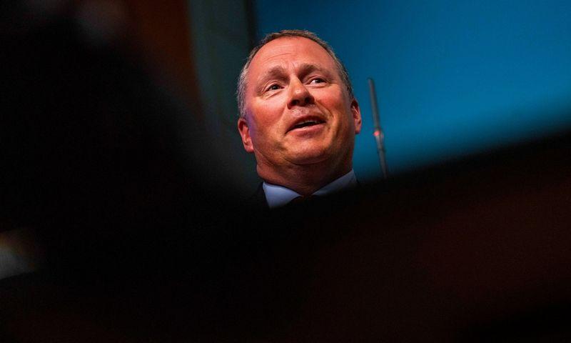 """Norvegijos gerovės fondo vadovas Nicolai Tangenas. Hakon Mosvold Larsen (""""NTB Scanpix"""") nuotr."""