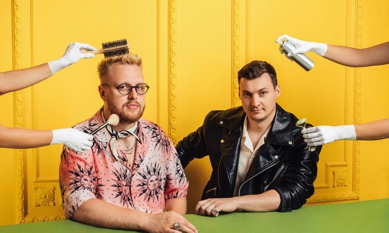 """""""Watalook"""" įkūrėjai Klaudijus Ambržoas (kairėje) ir Justas Vitėnas. Bednrovės nuotr."""