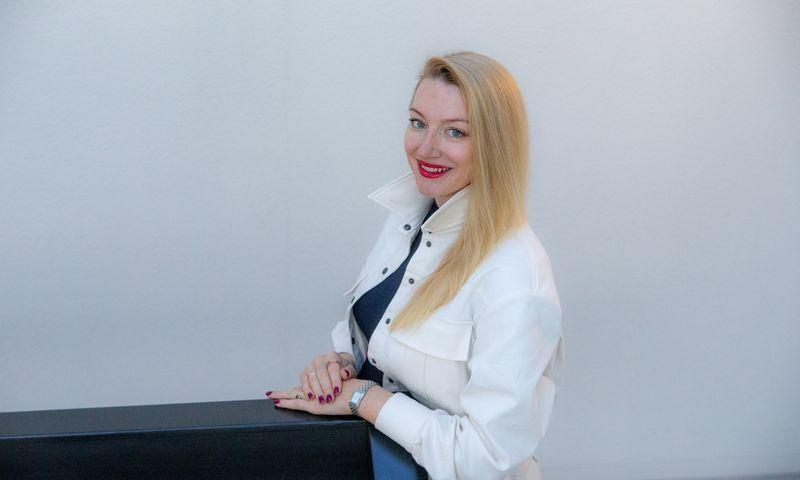 """Dr. Gerda Jurkonienė, atvirų duomenų platformos """"Okredo"""" vadovė ir įkūrėja. Vladimiro Ivanovo (VŽ) nuotr."""