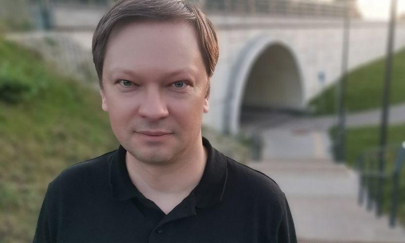 """Simas Kazlauskas, """"Preferrent"""" įrangos nuomos departamento vadovas. Įmonės nuotr."""