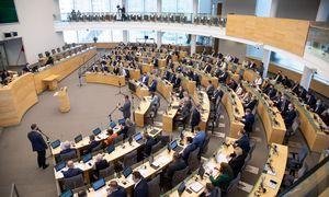 Kupina Seimo rudens darbų kraitelė– nuo biudžeto iki partnerystės ir merų