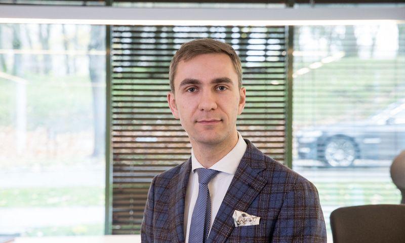"""Martynas Stankevičius, UAB """"Trečia diena"""", valdančios prekės ženklą """"Rontgen"""", direktorius. Juditos Grigelytės (VŽ) nuotr."""