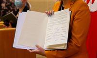 Parlamentinių partijų atstovai pasirašė susitarimą dėl švietimo
