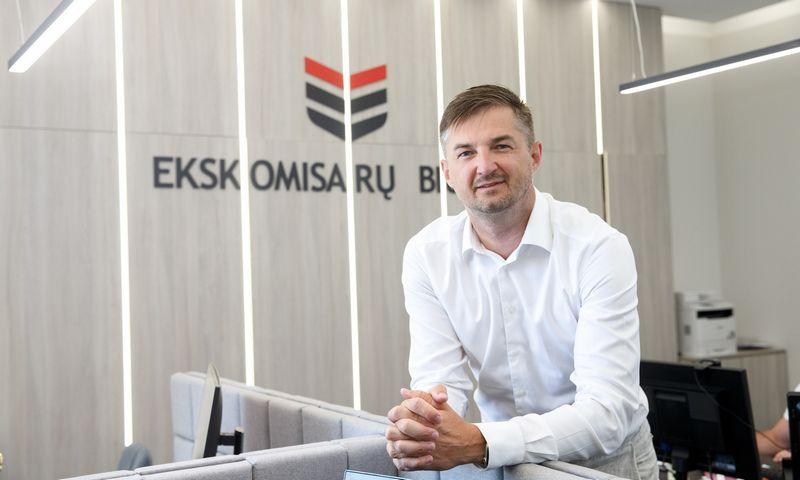 """Vytautas Labeckas, """"Ekskomisarų biuro"""" generalinis direktorius. Juditos Grigelytės (VŽ) nuotr."""