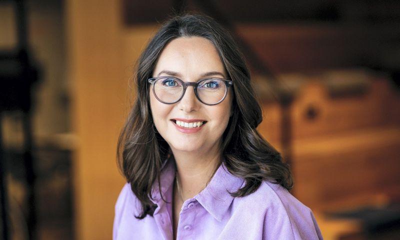 """Jekaterina Bitus, """"Swedbank"""" Lietuvoje Startuolių partnerysčių vadovė: """"Vienas iš svarbiausių """"Rockit Impact"""" tikslų – sutrumpinti jaunų tvarių startuolių kelią iki didžiųjų verslų. Tai padaryti pavyko labai sėkmingai""""."""