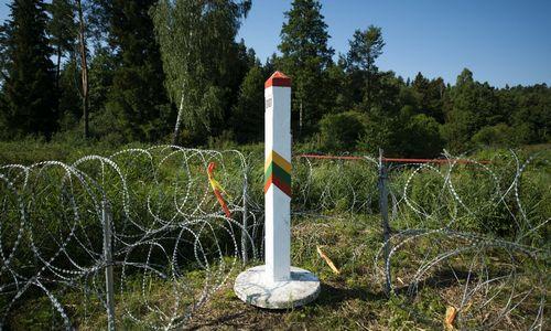 VRM siūlo numatyti daugiau priemonių ir veiksmų saugant išorinę ES sieną