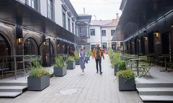 Senatorių pasažas Vilniuje išrinktas geriausiu 2020 m. rekreacinės architektūros kūriniu