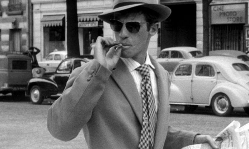 """Jeanas-Paulas Belmondo filme """"Paskutinis atodūsis"""". """"Scanpix"""" nuotr."""