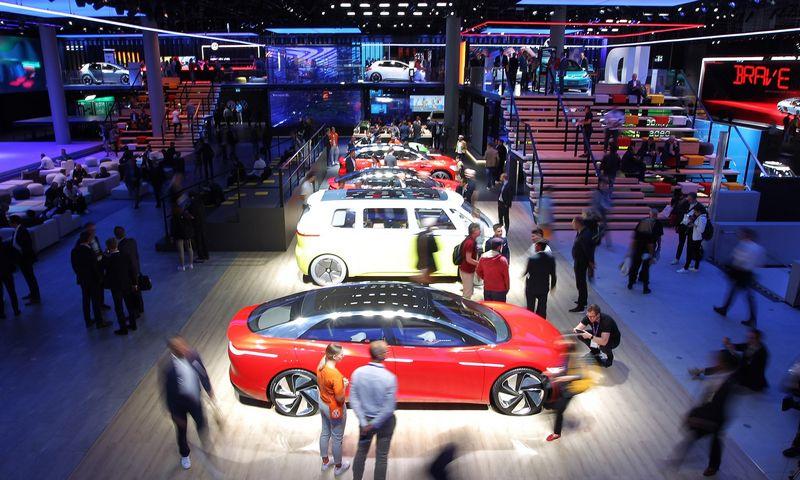 Automobilių paroda IAA 2019 Frankfurte. Lino Butkaus (VŽ) nuotr.