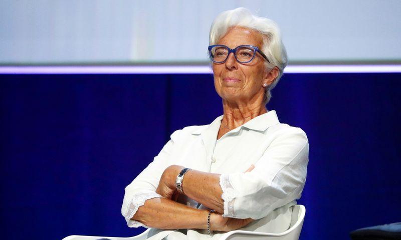 "ECB vadovė Christine Lagarde. Guillaume Horcajuelo (""Reuters"" / ""Scanpix"") nuotr."