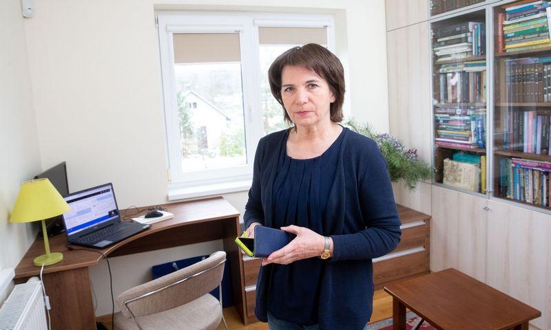 Aurelija Žvirblienė, VU Gyvybės mokslų centro profesorė. Juditos Grigelytės (VŽ) nuotr.