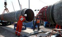 """""""Nord Stream 2"""" dujotiekis baigtas tiesti"""