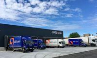 Augantis krovinių pervežimo srautas diktuoja poreikį greitesniam pristatymui