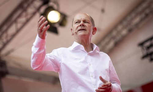 Socialdemokratai apklausose didina atotrūkį prieš rinkimus Vokietijoje