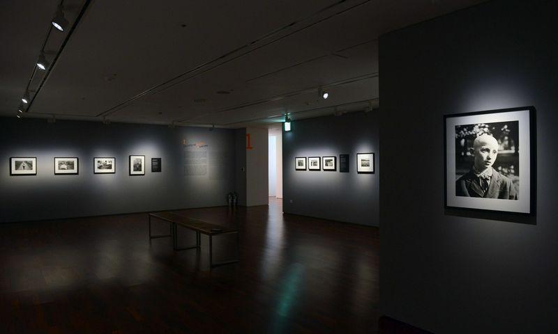 Lietuvos fotografijos ekspozicija Seulo fotografijos muziejuje. LNDM nuotr.