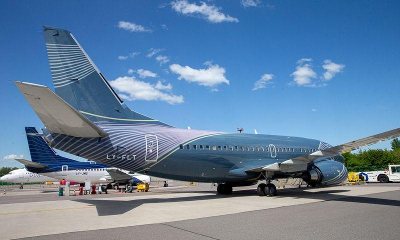 Lietuvoje registruotiems lėktuvams iki šiol nėra leidžiama skristi į JAV. Juditos Grigelytės (VŽ) nuotr.