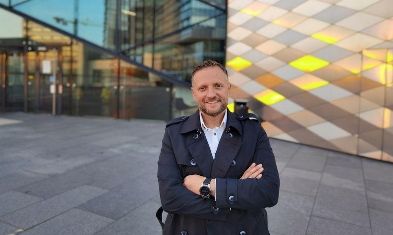 "Gintas Teslia, ""Active Vilnius"" vadovas. Bendrovės nuotr."