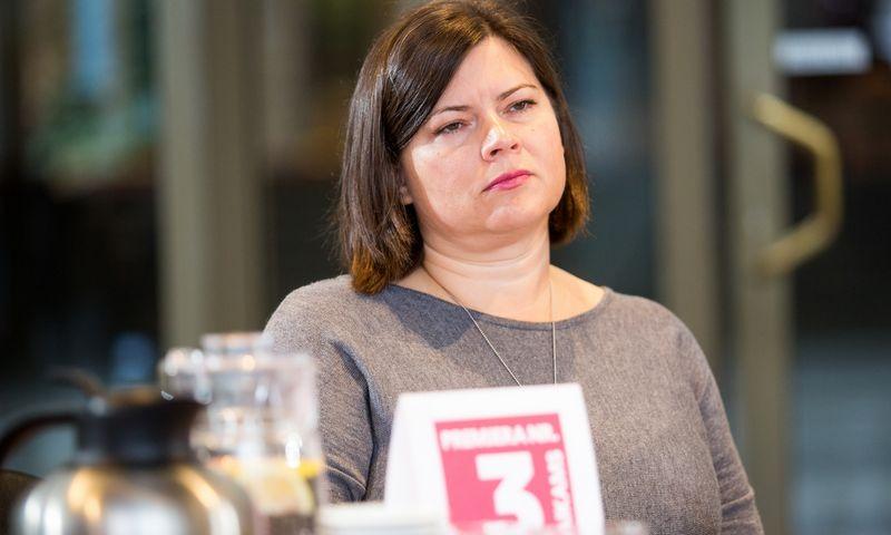 """Ieva Skaržinskaitė, Mecenavimo tarybos pirmininkė. Luko Balandžio (""""15min"""" / """"Scanpix"""") nuotr."""