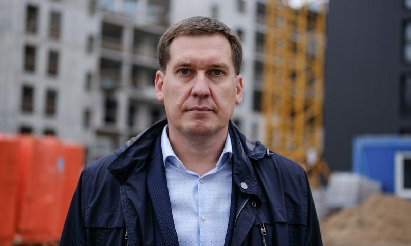 """Raimondas Reginis, """"Ober-Haus"""" rinkos tyrimų vadovas Baltijos šalims. Vladimiro Ivanovo (VŽ) nuotr."""