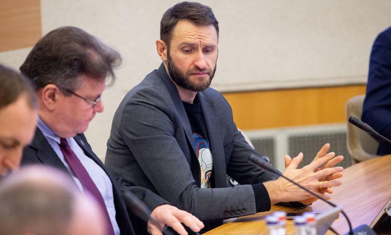 Elijus Čivilis, Ekonomikos ir inovacijų viceministras. Vladimiro Ivanovo (VŽ) nuotr.