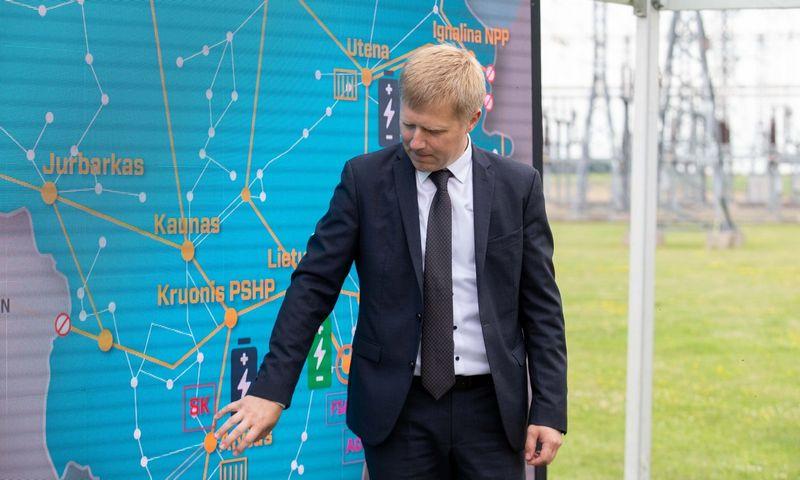 """Rolandas Zukas, įmonių grupės """"EPSO-G"""" generalinis direktorius. Juditos Grigelytės (VŽ) nuotr."""