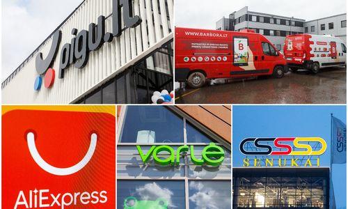 TOP 10 lietuviškų ir užsienio e. parduotuvių