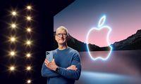 """""""Apple"""" pristatė """"iPhone 13"""", atnaujintus """"iPad"""" ir """"Apple Watch"""""""