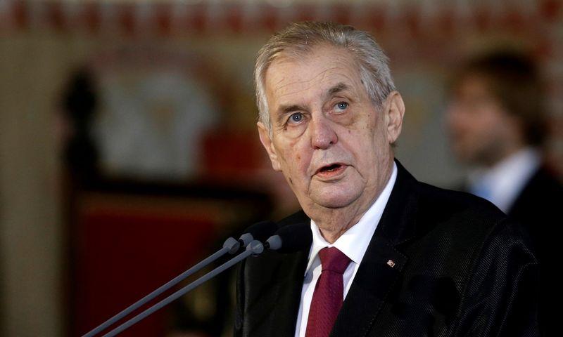 """Milošas Zemanas. """"Reuters""""/Davido W. Cerny/""""Scanpix"""" nuotr."""
