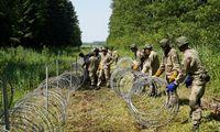 """""""Epso-G"""" ir """"Tetas"""" pasirašė sutartį dėl 111 km tvoros su Baltarusija statybos"""