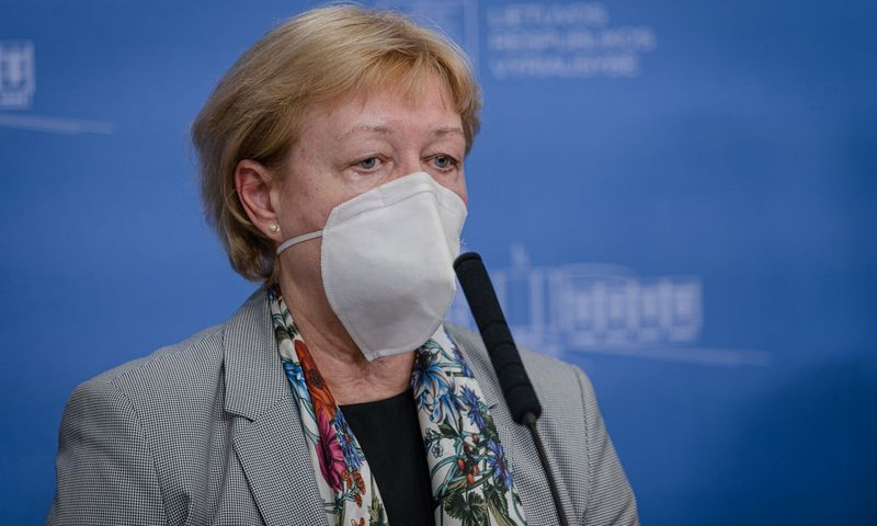 Daiva Razmuvienė, Nacionalinio visuomenės sveikatos centro epidemiologė. Dariaus Janučio (LRVK) nuotr. Įmonės nuotr.